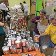 Distribuzione alimenti alle famiglie in difficoltà