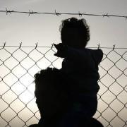 Migranti al confine di Idomeni