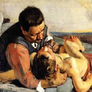 """The Good Samaritan"" - Ferdinand Hodler (1853 – 1918)"