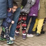 Centro di accoglienza rifugiati a Buedingen