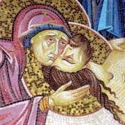 Mosaico del Santo sepolcro a Gerusalemme