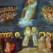 Giotto, Ascensione di Gesù