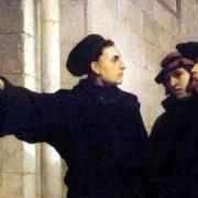 Affissione tesi Lutero