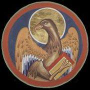 Aquila, simbolo dell'evangelista Giovanni