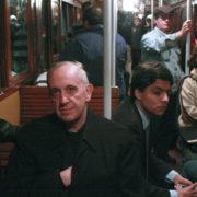 Jorge Bergoglio sul metro