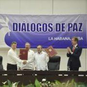 Colombia - Trattato di pace
