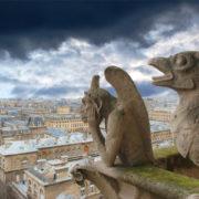 Gargoyles Notre Dame Parigi