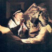 Rembrandt, L'uomo ricco della parabola