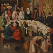 Hieronymus Bosch - Le nozze di Cana (1475)