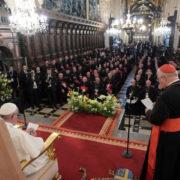 Incontro papa e vescovi polacchi