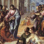 El Greco, Il miracolo di Gesù che guarisce il cieco