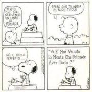 Snoopy teologo