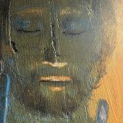 Arcabas, volto di Cristo