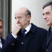 Sarkozy, Juppé, Fillon