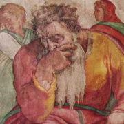 Geremia, affresco Sistina