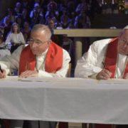 Lund, firma dichiarazione congiunta