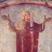 Orante, catacombe Priscilla