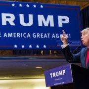 Donald Trump comizio