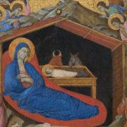 Duccio, natività (particolare)
