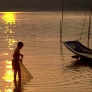 Pesca sul fiume Mekong