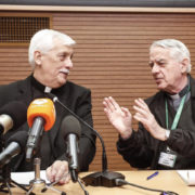 Arturo Sosa e Federico Lombardi