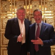 Trump e Farage