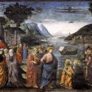 Domenico Ghirlandaio, Chiamata dei primi discepoli
