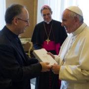 Papa Francesco incontra La Civiltà Cattolica