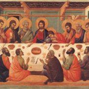 Duccio, Ultima cena