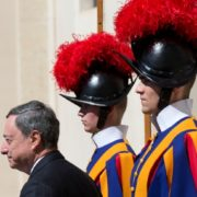 Mario Draghi in Vaticano