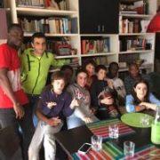 Famiglia di Lauriana e Stefano a Bologna