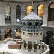 restauro del Santo Sepolcro