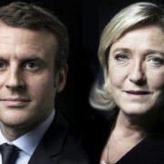 Emanuel Macron e Marine Le Pen