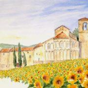 Romena (acquerello)