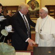 Trump dopo la visita al papa
