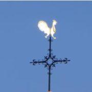 il gallo sul campanile di molte chiese