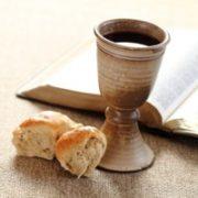 sul pane e il vino per l'eucaristia