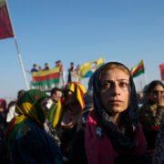Funerale a Qamishli, Rojava, Siria (Lynsey Addario per The New York Times)
