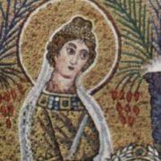 Vergine, mosaico
