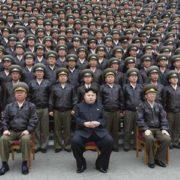 Kim Jong-un e il suo esercito