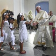 viaggio del papa in Colombia