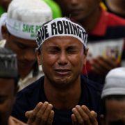 Proteste rohingya