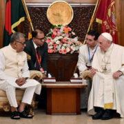 Discorso di papa Francesco in Bangladesh
