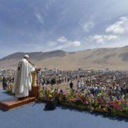papa Francesco ai giovani in Cile