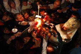 Liturgia ortodossa pasquale della luce