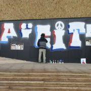 Laicità, murales