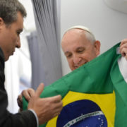 papa Francesco, Brasile