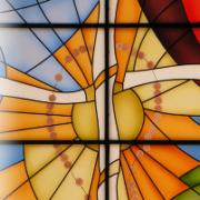 vetrata croce
