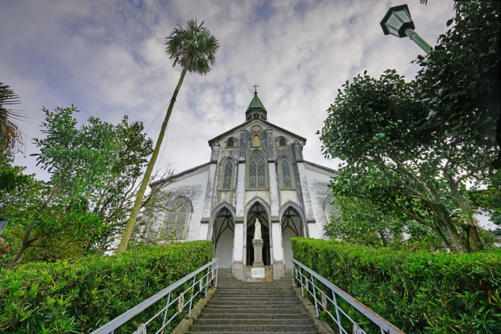 Cattedrale di Oura, Nagasaki, la più antica chiesa in Giappone