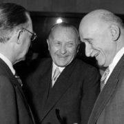 Adenauer Schumann De Gasperi